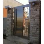 Çelik Bahçe Kapısı