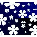 Çiçek Desenli Duvar Kağıtları-11
