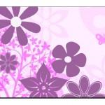 Çiçek Desenli Duvar Kağıtları-12