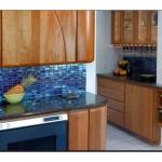 Mutfak Tezgah Arası Cam Mozaik Tasarımları