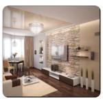 Oturma Odası Taş Duvar Modelleri
