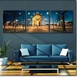 Salon Canvas Duvar Saatleri
