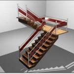 Şık İç Mekan Merdivenleri