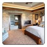 Yatak Odası Duvarı Taş Kaplama