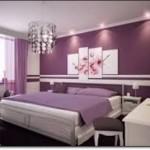 Eflatun Rengi Yatak Odası-3