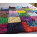 Kare Örgü Battaniyeler