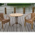 Bambu Masa ve Sandalyeler