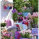 Çiçekli Balkon Dekorasyonu-2