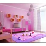 Erguvan Rengi Genç Odası