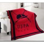 Kırmızı Polo Battaniye