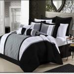 Siyah Beyaz Yatak Örtüleri-2