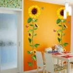Ayçiçeği Duvar Boyası