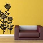 Ayçiçeği Rengi Duvar Boyası