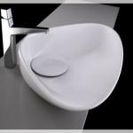 Beyaz Banyo Lavaboları