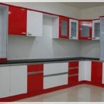 Kırmızı Beyaz Mutfak Modelleri