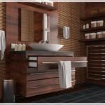 Ahşap Banyo Tasarımı