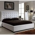 Beyaz Deri Yatak Odaları