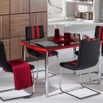 İstikbal Kırmızı Mutfak Masaları