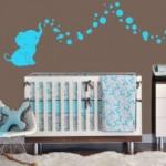 Bebek Odası Duvar Kağıdı Modelleri-2