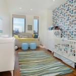 Bebek Odası Duvar Kağıdı Modelleri-4