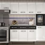 Beyaz Hazır Mutfak Dolapları