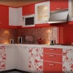 Desenli Hazır Mutfak Dolapları