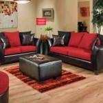 Kırmızı Siyah Oturma Grubu