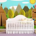 Ucuz Bebek Odası Duvar Kağıtları