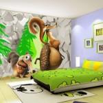 Uygun Bebek Odası Duvar Kağıtları-5