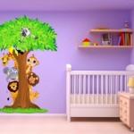 Uygun Bebek Odası Duvar Kağıtları-6