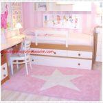 Bebek Odası Açık Pembe Halılar
