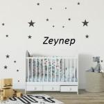 Bebek Odası Sticker İsimli-3