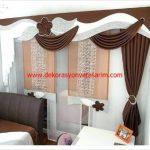 Dekoratif Yatak Odası Perde Modelleri