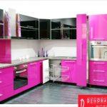 Fuşya Rengi Modern Mutfaklar
