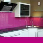 Fuşya Rengi Mutfak Fayansları