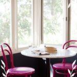 Fuşya Rengi Mutfak Sandalyesi