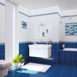 Mavi Beyaz Banyo Fayansları-2019