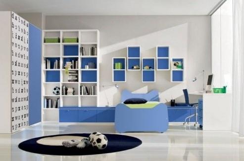 Modern Erkek Bebek Odası Dekorasyonu