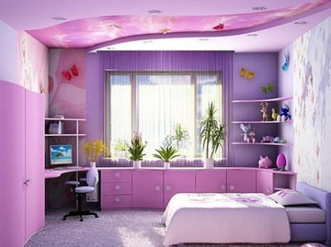 Modern Kız Bebek Odası Dekorasyonu