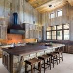 Rustik Mutfak Dolapları-4