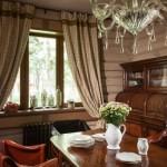 Rustik Salon Perdesi Modelleri