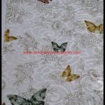 Kelebek Desenli Perde