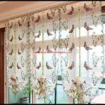 Kelebek Desenli Perdeler