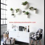 Dekoratif Salon Duvar Saksıları-13